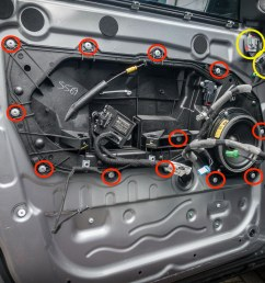 how to replace range rover evoque door locks 6 [ 2000 x 1333 Pixel ]