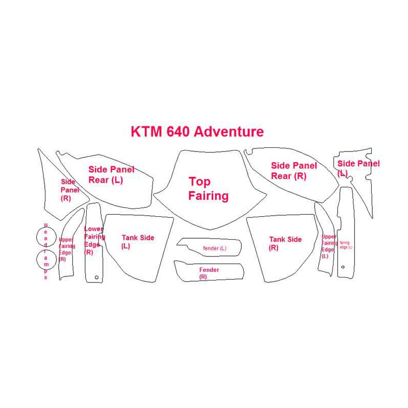 Ktm 640 Fuse Box - Catalogue of Schemas Ktm Adventure Wiring Diagram on