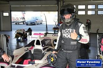 Marek Rybníček testoval monopost GP2