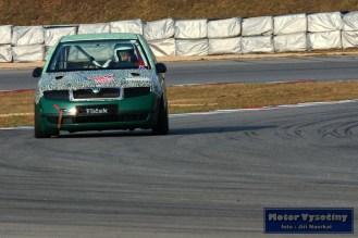 14 - Milan Strosz - Škoda Fabia - Skalda Racing