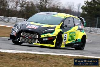 18 -Marek Rybníček Ford Fiesta EVO - Liqui Moly Racing Team