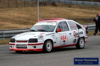 23 - Pavel Vratil - Opel Kadet Gsi - CoraHB Historic Racing club JIhlava