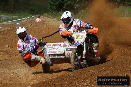 55 - MMČR Sidecarcrossu a quadu - Dalečín 2.6.2018