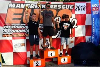 25 - Tomáš Homola na stupních vítězů kde obsadil druhé místo ve skupině E1 v autoslalomu