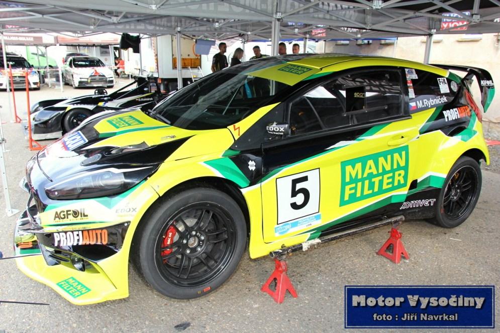 31 - Marek Rybníček - Ford Fiesta WRC EVO