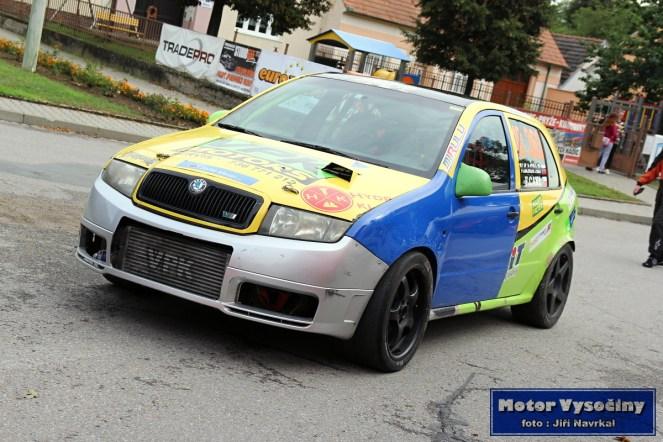 12 - Filip Cakl - Škoda Fabia TDi - Diváky 2018