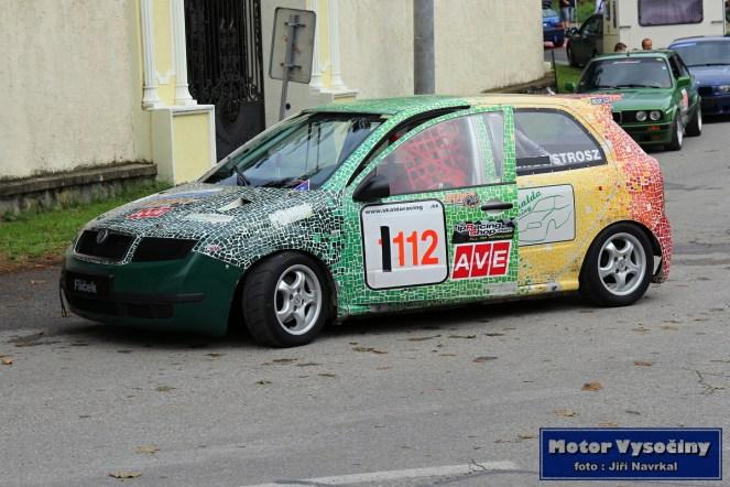 23 - Milan Strosz - Škoda Fabia - Diváky 2018