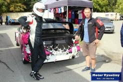 40- Drahoslav Šubert - Mitshubishi Lancer WRC 05- Diváky 2018