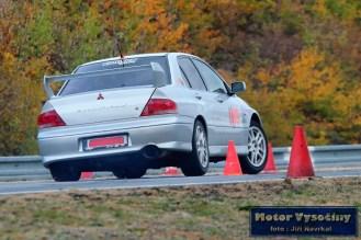 03 - Motálek Milan - Mitsubushi Lancer EVO VII- IV. RACE CAR SHOW MREC - Brno - 21.10.2018