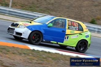 14 - Kožnarová Libuše - Škoda Fabia TDi- IV. RACE CAR SHOW MREC - Brno - 21.10.2018
