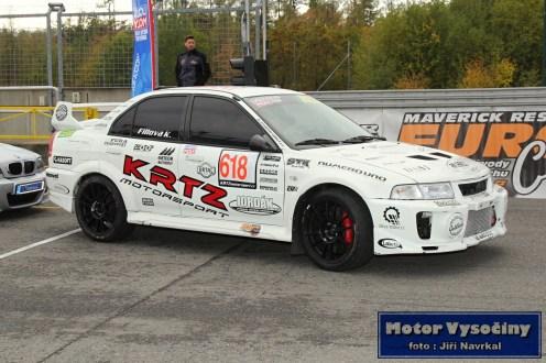 32 - Fillová Kristýna - Mitsubishi MaLancer EVO IV- IV. RACE CAR SHOW MREC - Brno - 21.10.2018