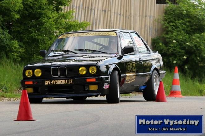 12 - Tomáš Homola - BMW E30 - Mohyla míru 2019
