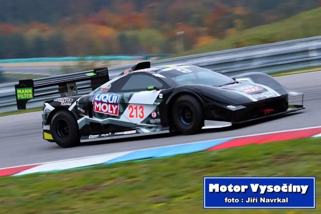 David Komárek na trati GMS Race Cars Show 2019