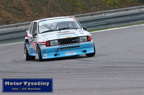 55 - Krejčí Bohuslav - Škoda Rapid LRH - GMS Race Car show - Automotodrom Brno - 19.10.2019