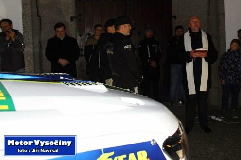 Slavnostní odjezd na Dakarr 2020 posádky Tomáš Ouředníček s Davidem Křípalem - Velké Meziříčí 30.11.2019 - 11