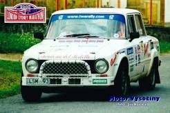 28 - St. č. 26 Richard Anderson – Keith Callinan, oba Austrálie, Alfa Romeo Guilia - London-Sydney Marathon 2000