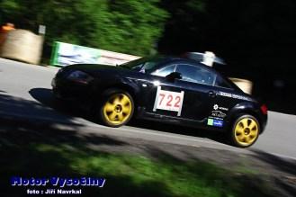 13 - Houska Radek - Audi TT - AS-E1+2000 - Vírské serpentiny 2021