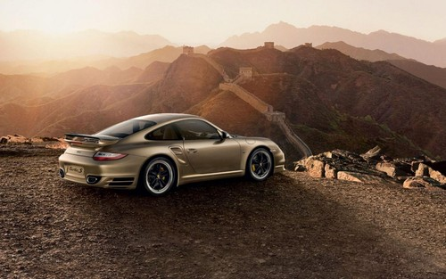 Porsche 911 Turbo S China 10th Anniversary Edition porsche 911 turbo s china 4