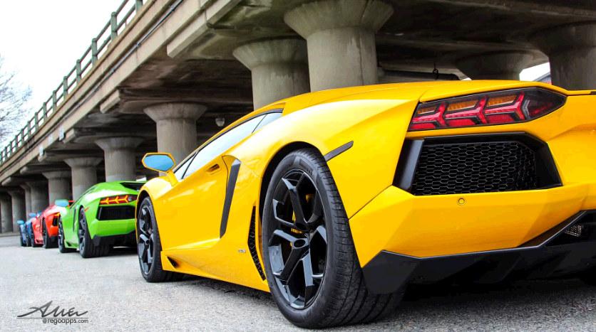 Epic Blue Car Wallpapers A Compilation Of Epic Lamborghini Aventador Adventures