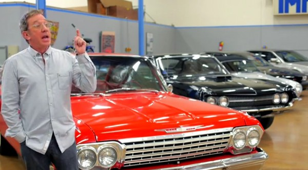 Celebrity Car Collections Tim Allens Private Garage