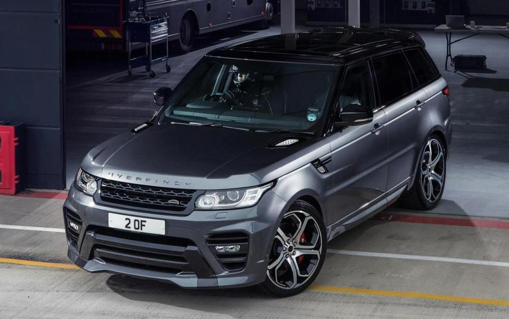 Overfinch Range Rover Sport Tuning Kit Revealed
