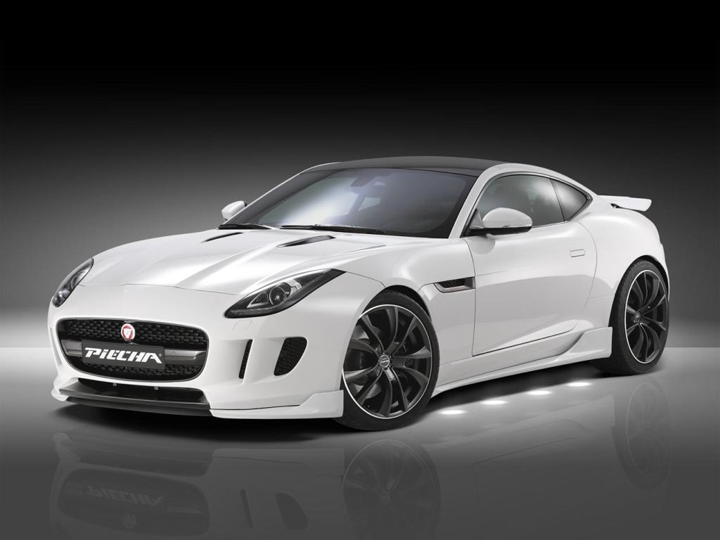Piecha Design Jaguar F Type Coupe Unveiled