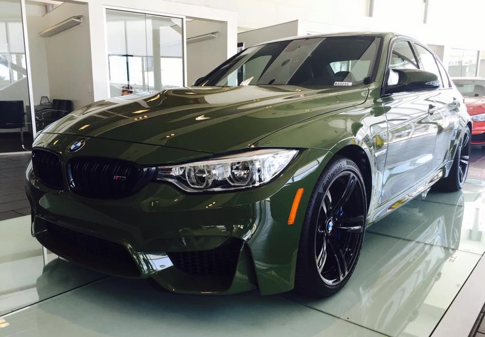 Urban Green BMW M3 Looks Menacing