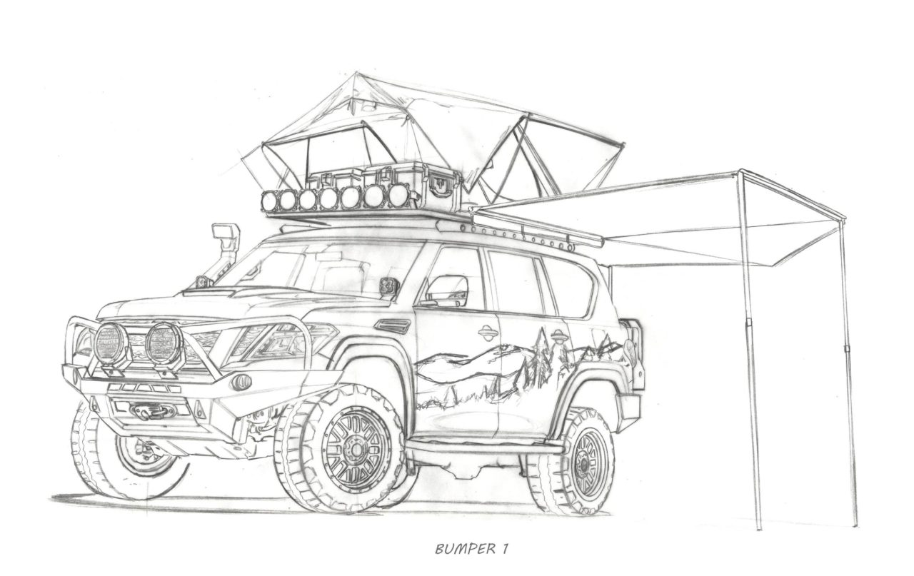Nissan Armada Mountain Patrol Under Build With Input From