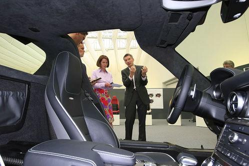 2010 Mercedes SLS AMG interior design mercedes sls design 1