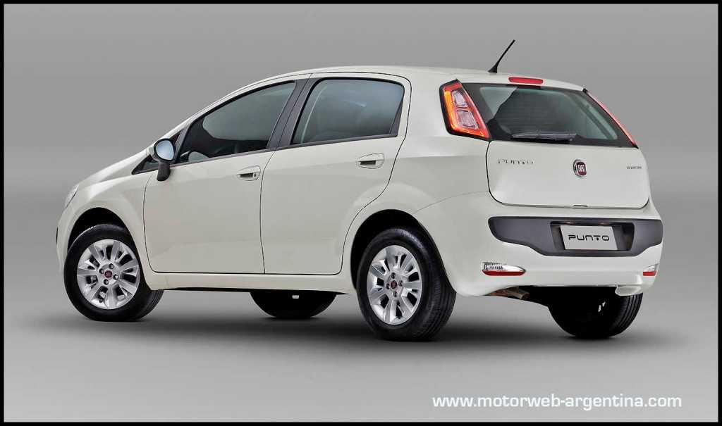 Nuevo fiat punto precios y versiones para argentina for Fiat idea attractive 2013 precio