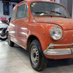 Como 0km: Encuentran un Fiat 600 de 1971 sin uso