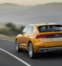 the 2019 audi q8 will be available in the u s this fall  [ 3500 x 1969 Pixel ]