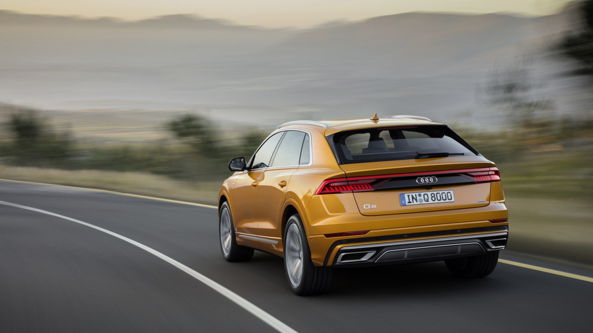 hight resolution of the 2019 audi q8 will be available in the u s this fall