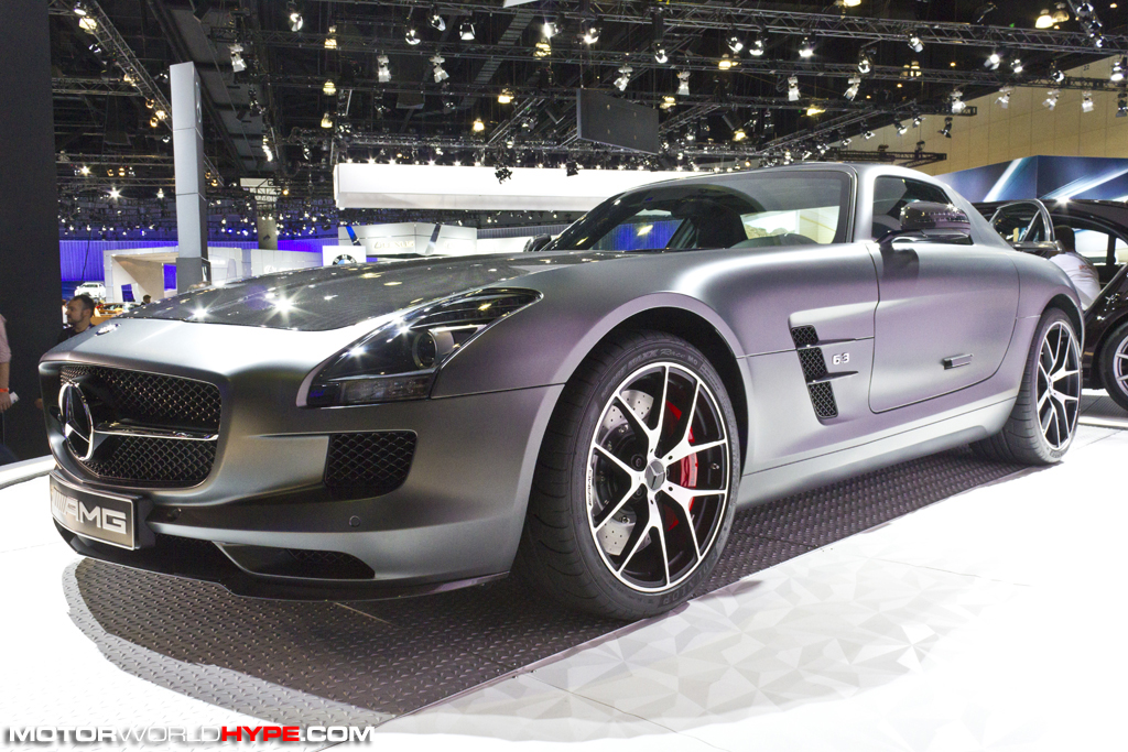 LA Auto Show 2013: Mercedes Benz Gives Center Stage To AMG ...