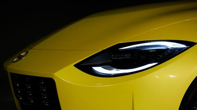 Nissan Z Proto headlight side view
