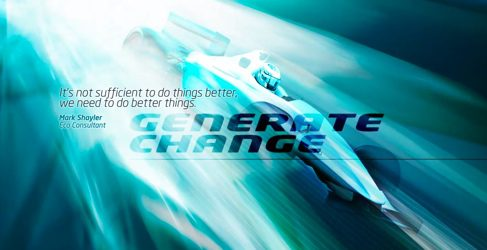 Un monoplaza de la nueva Fórmula E