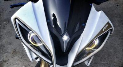 Halos on Yamaha R6