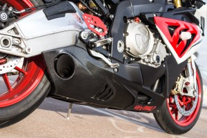 Exhaust on BMW S1000RR