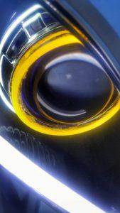 BKMOTO Headlights on 14 Yamaha R6