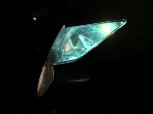 Night_Front View_Green Light_05 GSXR 600