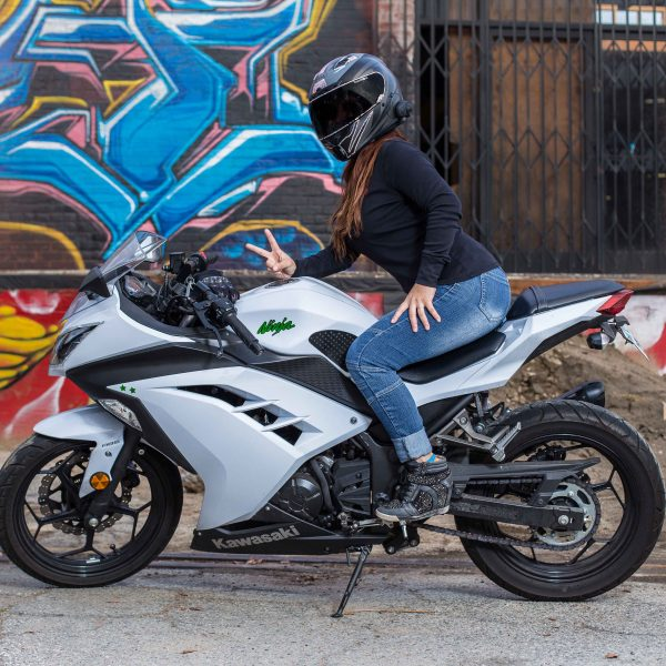 White Kawasaki Ninja 300_IG.@ohsnap_its_snap_ - S.N.A.P Photography