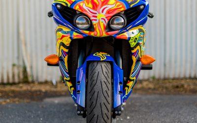 AGV 5 Continents on Yamaha R1 by Bikeskinz_Aloha Custom Wraps_3