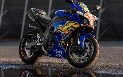 AGV 5 Continents on Yamaha R1 by Bikeskinz_Aloha Custom Wraps_5