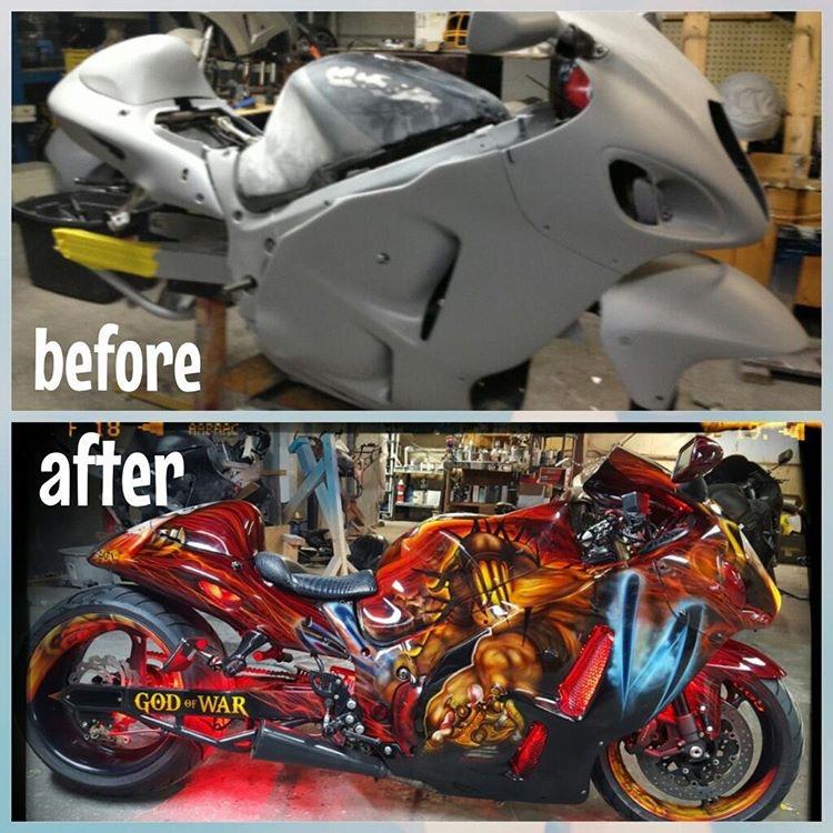 MORROW GREEN Custom Mix Paint for Suzuki Motorcycles AEROSOL T125R Stinger