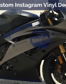 Moto Schemes_Custom Instagram Vinyl Decal_Yamaha R6