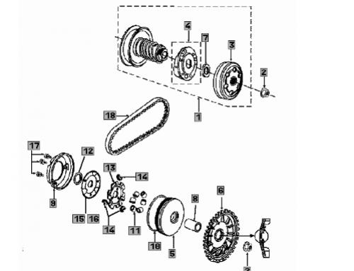 Funcionamiento tubo de escape en motores 2 Tiempos