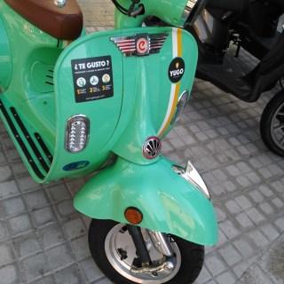 Scooter eléctrica de Yego motosharing