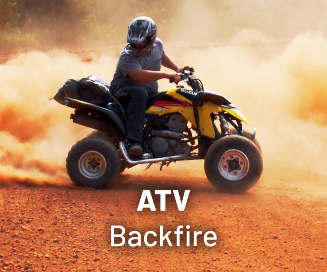 why does my atv backfire 6 tips to