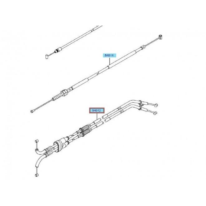 Achat cables de gaz double zx10r 540120299 KAWASAKI