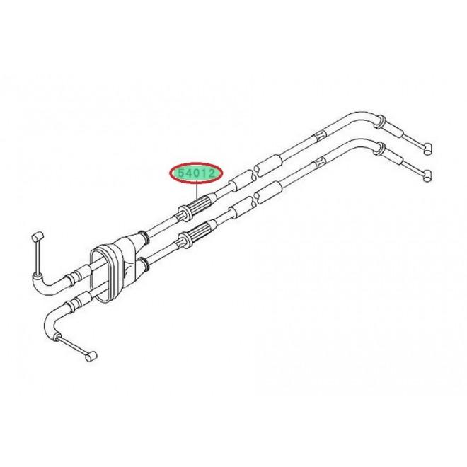 Achat cables de gaz double zx6r 20052006 540120132